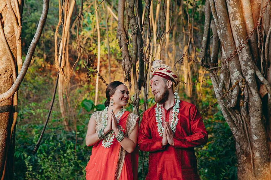 индийская свадебная церемония - Пуджа